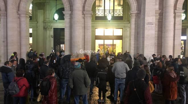 manifestazione contro restrizioni dpcm