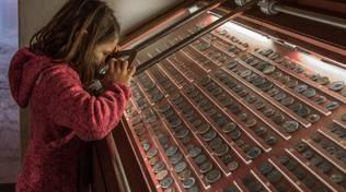 Museo Archeologico del Finale bambina vetrina