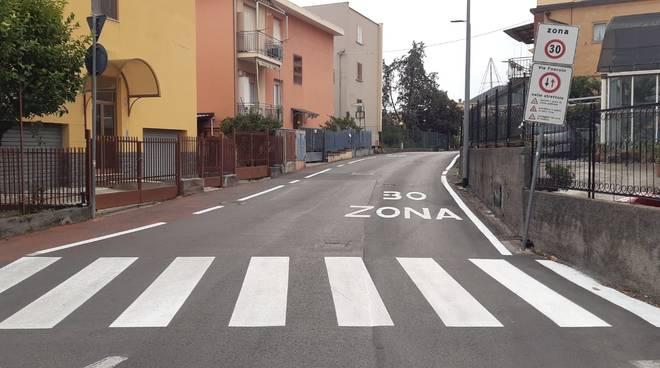Nuova segnaletica a Loano