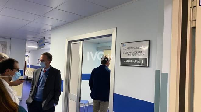 Nuovo angiografo Santa Corona