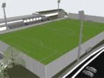 progetto restyling rifacimento Siccardi Spotorno campo sportivo