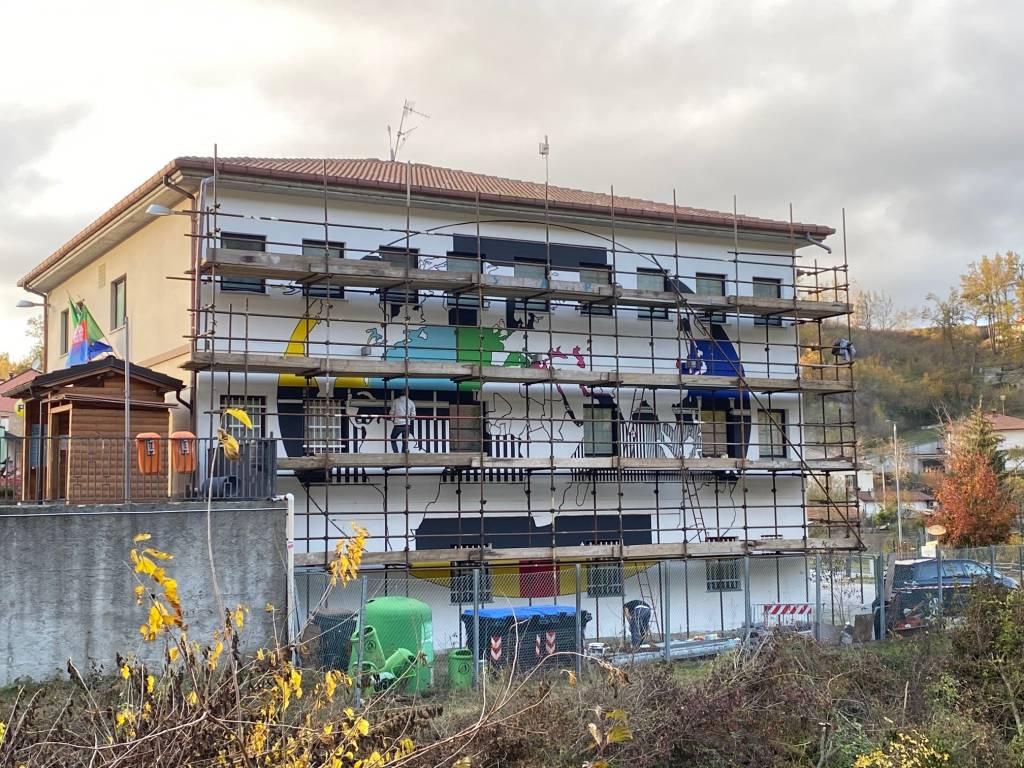 Raccavignale murales migranti