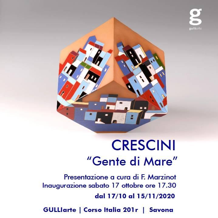 """Savona """"Gente di Mare"""" mostra maioliche Giovanna Crescini (inaugurazione)"""