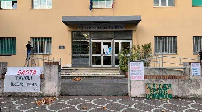 Sciopero Liceo Bruno Albenga