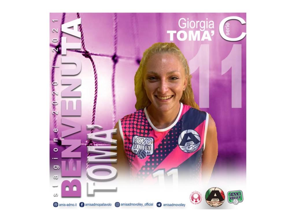 Serie C femminile: Giorgia Tomà entra a far parte dell'Amis-Admo