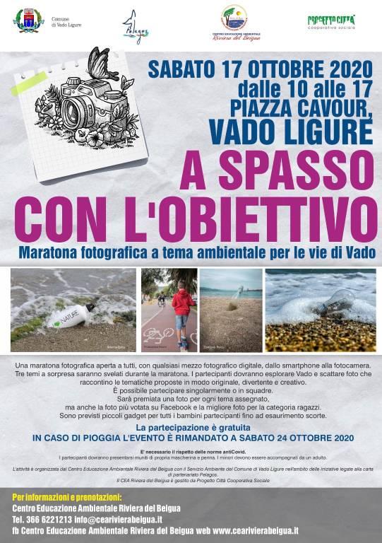 """Vado Ligure """"A spasso con l'obiettivo"""" 2020 maratona fotografica"""
