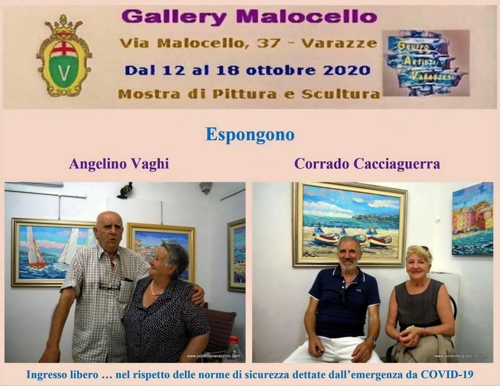 Varazze mostra Angelino Vaghi e Corrado Cacciaguerra