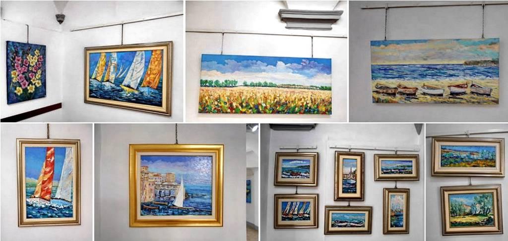 Varazze mostra pittura Angelino Vaghi Gallery Malocello