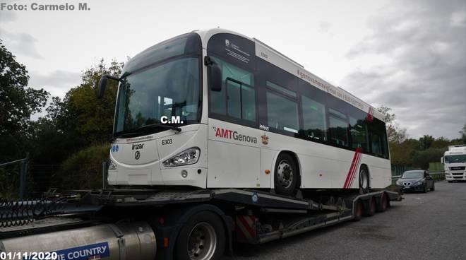 Amt Genova, ecco i nuovi bus elettrici Irizar