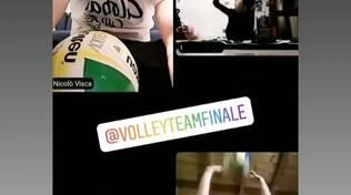 #NONCIFERMIAMO: il Volley Team Finale non si ferma!
