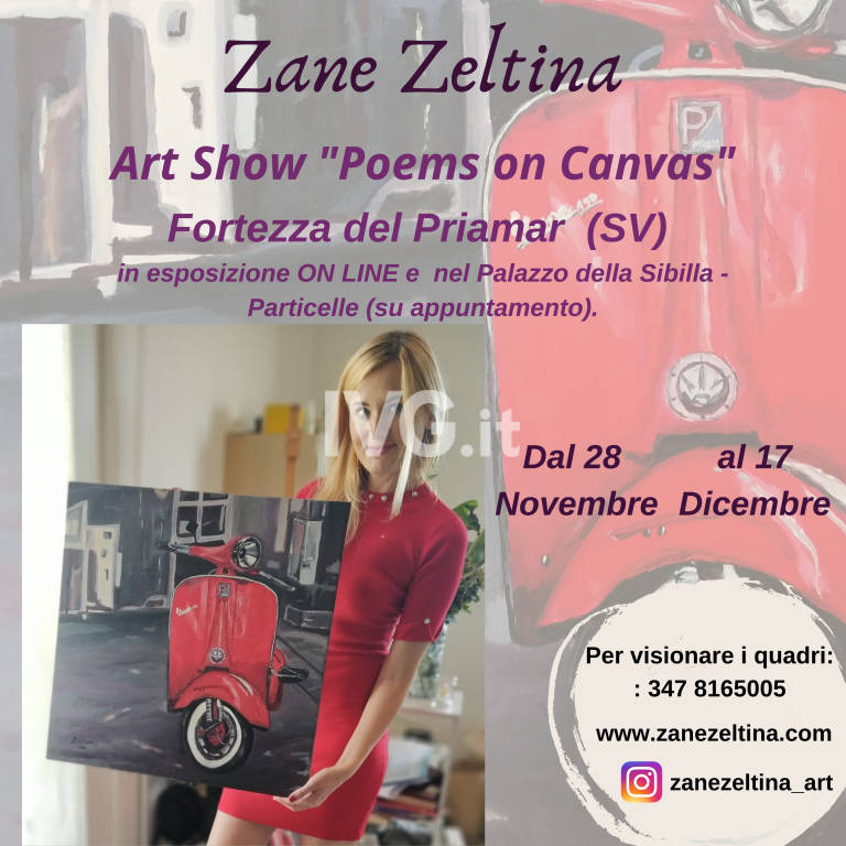 "Art Show ""Poems on Canvas\"""