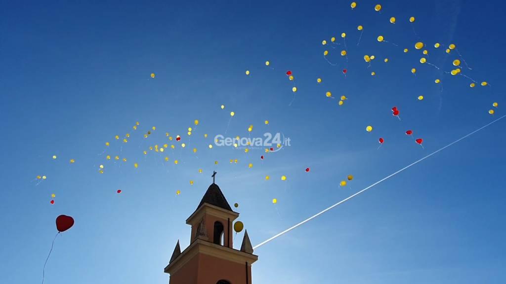Funerale Gaia Morassutti a Quezzi