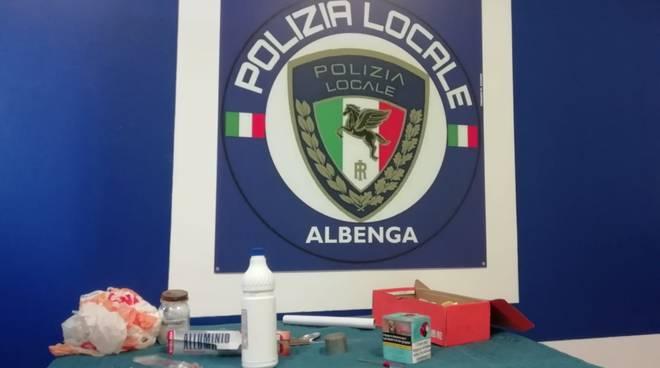 Polizia Locale Albenga arresto spaccio