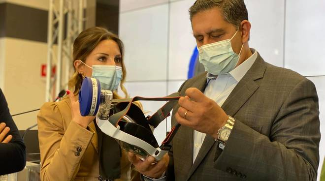 babboleo onlus dona mascherine ospedali liguri toti