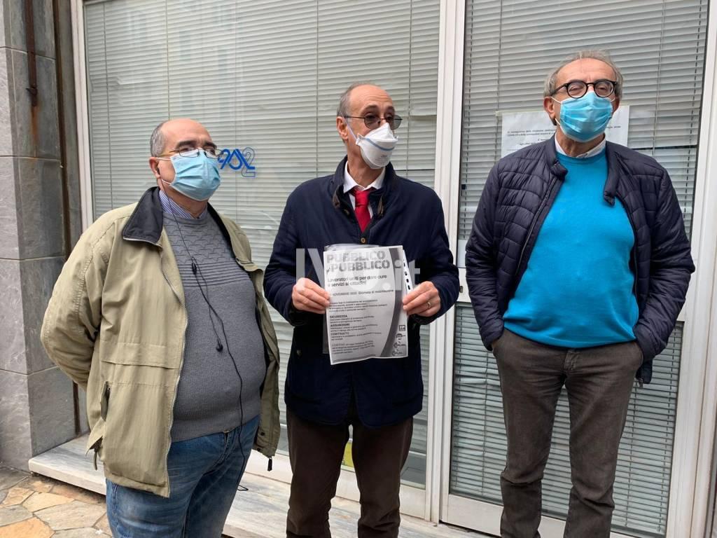 Protesta Sindacati Asl