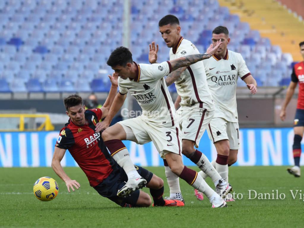 Genoa Vs Roma