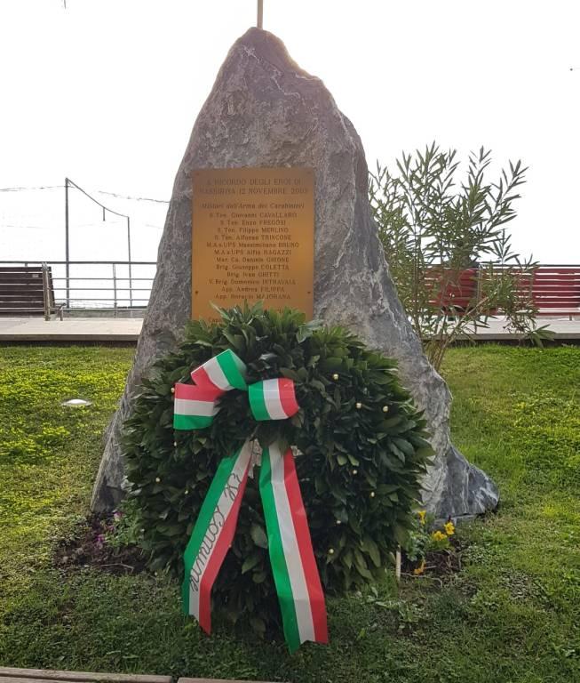 Nassirya, le celebrazioni in provincia di Savona