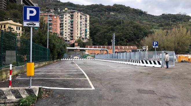 parcheggi gavette viadotto bisagno