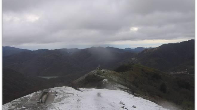 prima neve monte rifugio antola 2020