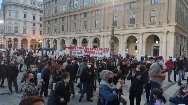 protesta covid de ferrari