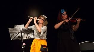 """Savona """"Concert Jouet"""" spettacolo musicalteatrale voce e violoncello"""