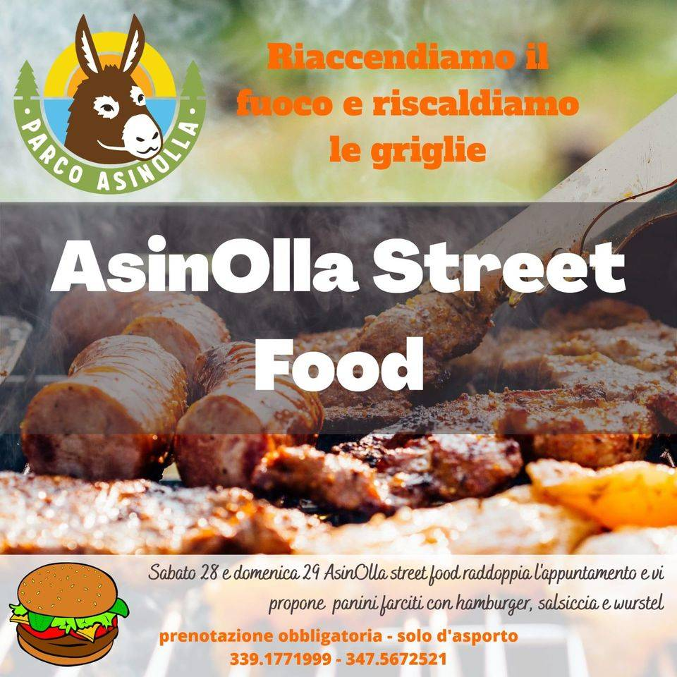 Pietra Ligure Parco Natura AsinOlla street food