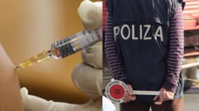 vaccino polizia