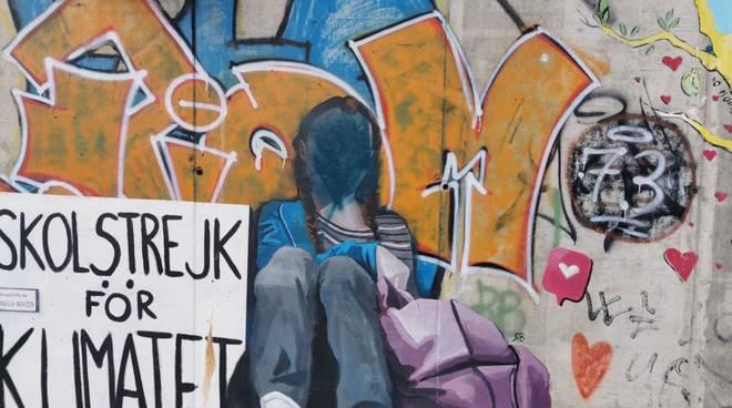 vandali murales greta