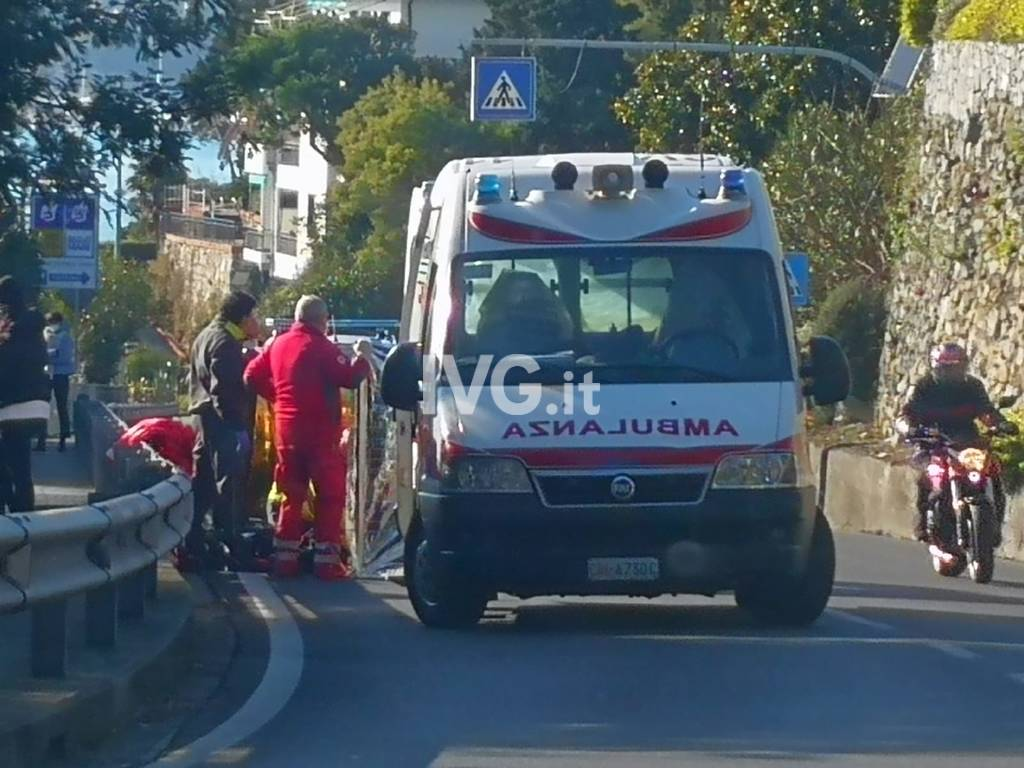 ambulanza Varazze soccorsi