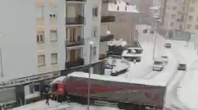 camion neve cengio