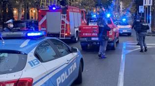 vigili del fuoco polizia albero caduto