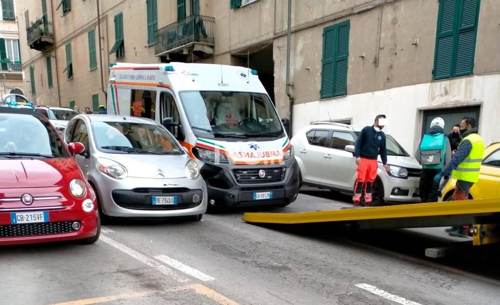Incidente Ambulanza Savona