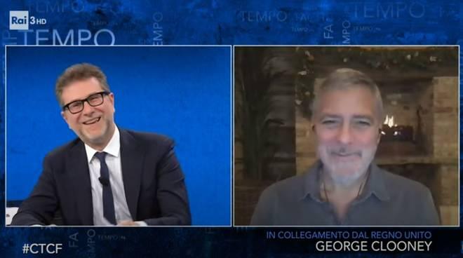 Fabio Fazio George Clooney