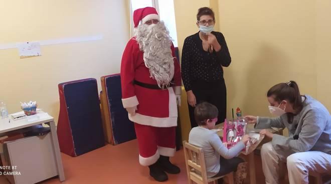Babbo Natale neuropsichiatria Savona