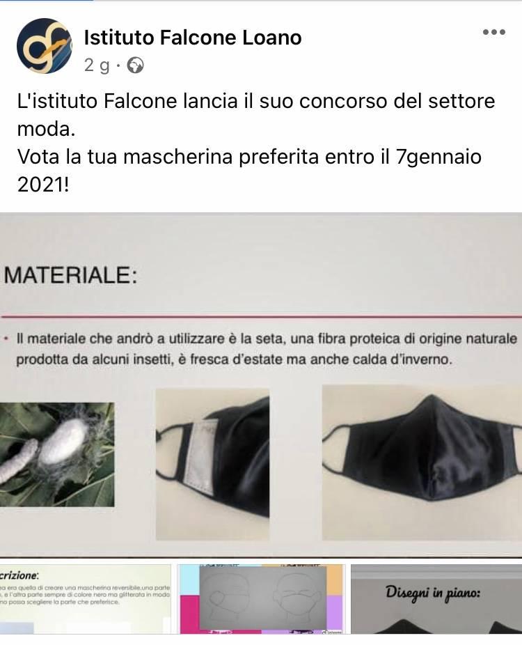 Istituto Falcone Mascherine