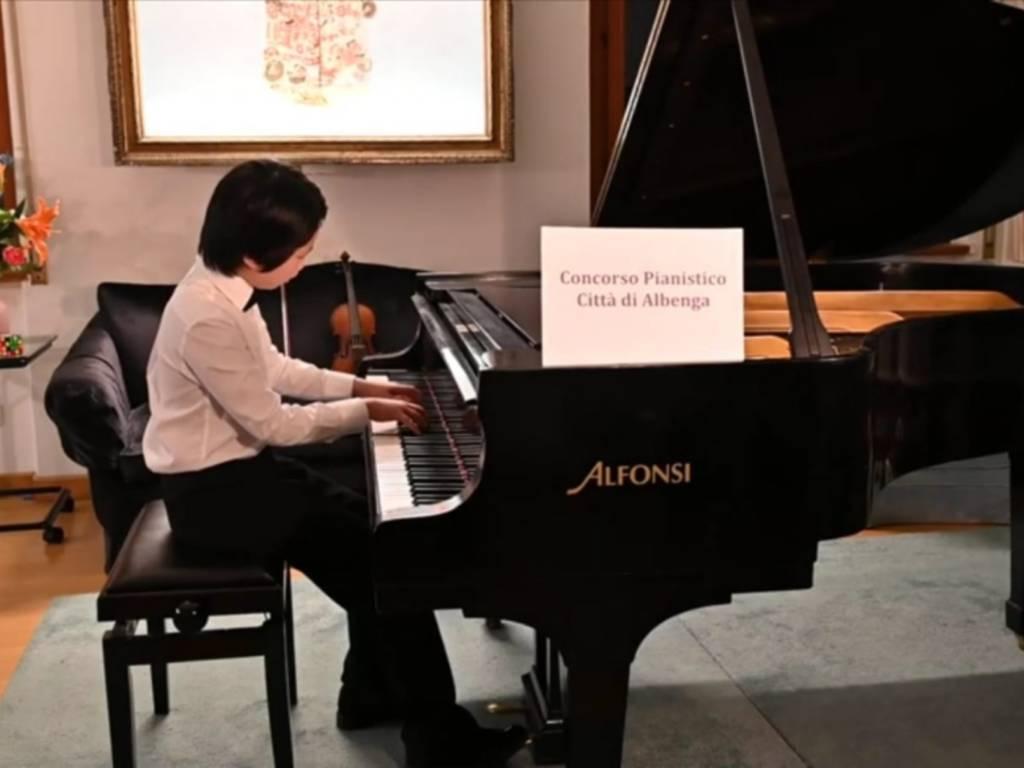 Concorso Pianistico Albenga 2020 Ben Gu Categoria C