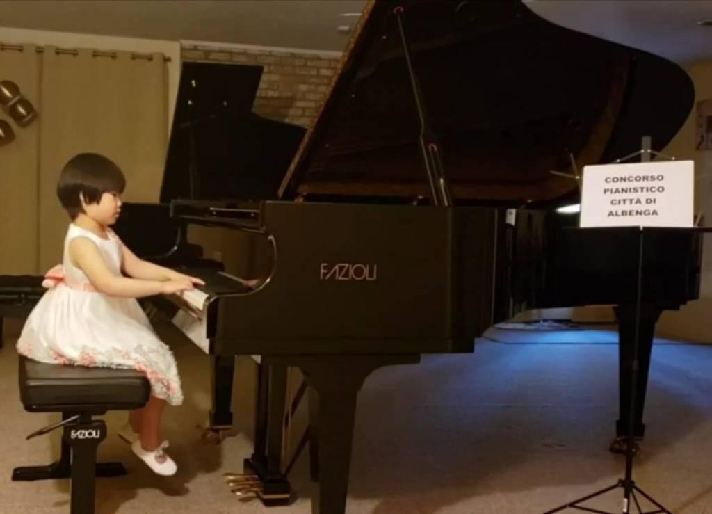 Concorso Pianistico Albenga 2020 Rachel Chan categoria Pulcini
