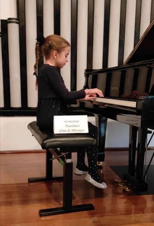 Concorso Pianistico Albenga 2020 Tina Ursik Categoria A