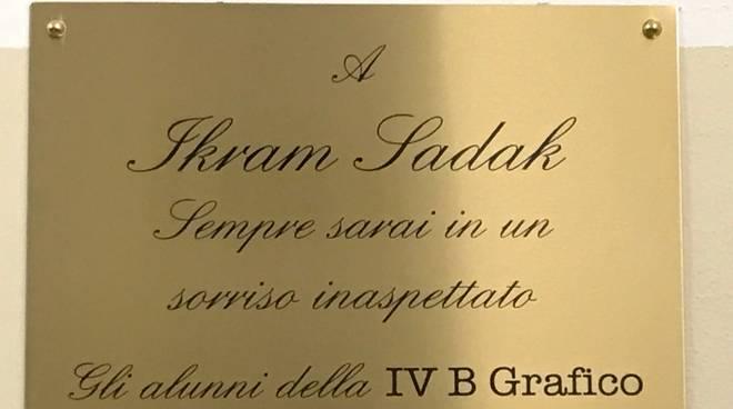 Laboratorio Falcone intitolato a Sadak Ikram