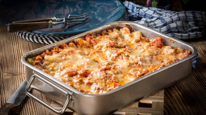 Lasagne al forno Lasagna Lasagnata
