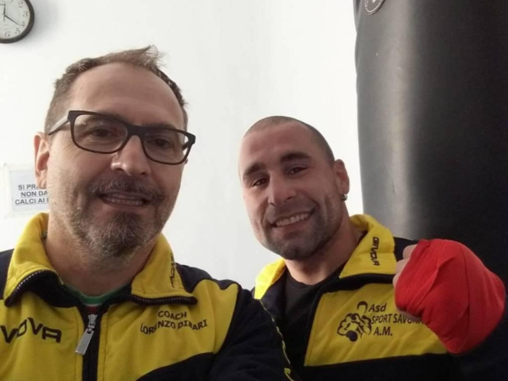 Lorenzo Dibari e Morgan Toselli