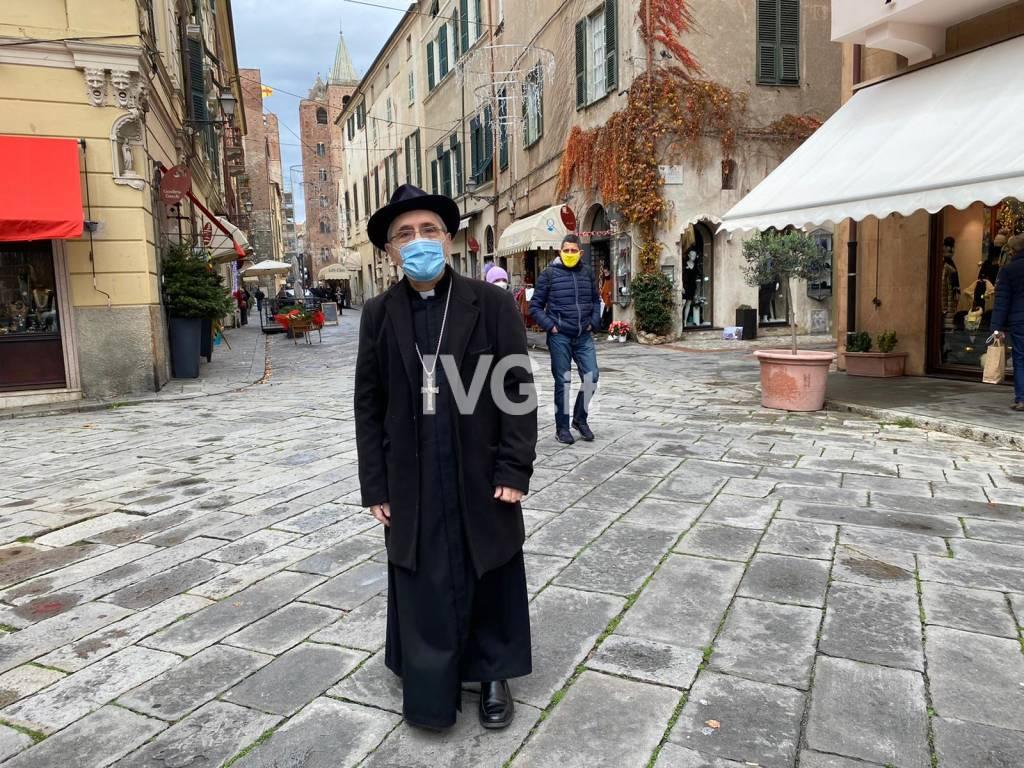 Monsignor Guglielmo Borghetti generica Albenga