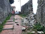 muro crollato a granarolo, salita chiusa