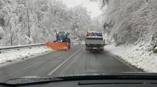 neve strada provinciale
