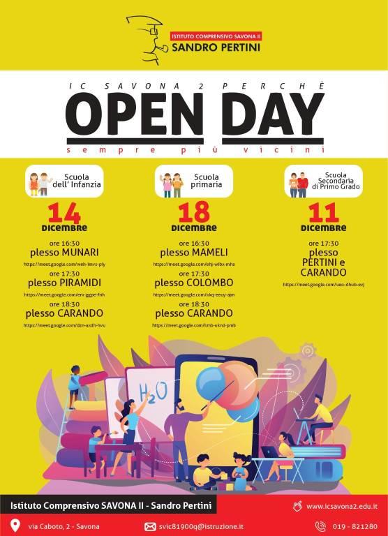 Open day Pertini IC II