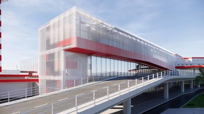 Progetto ampliamento terminal aeroporto Cristoforo Colombo