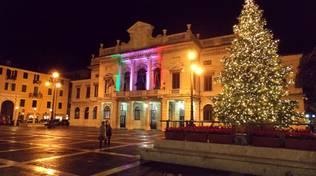 Savona, l'albero di Natale illumina piazza Sisto IV e il centro storico
