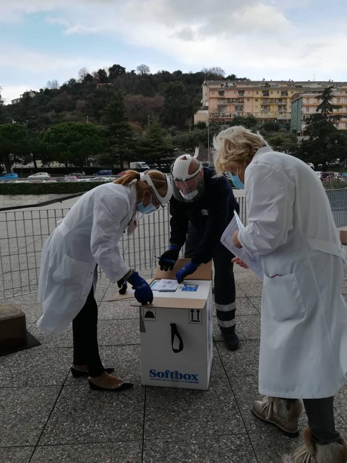 vaccino covid consegna arrivo Ospedale San Paolo savona