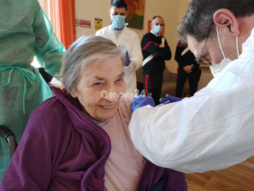Vaccino rsa Villa Marta