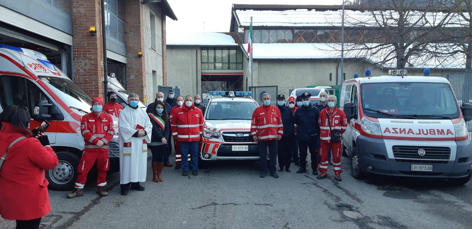 Consegnata nuova automedica per la Croce Rossa di Rossiglione